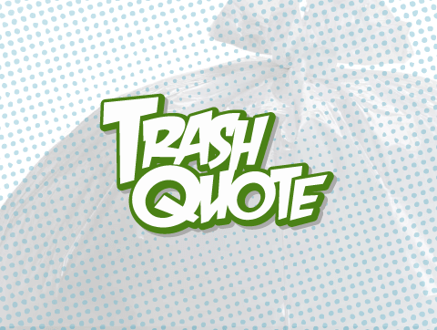 TrashQuote.com logo - Tyler Pearsall