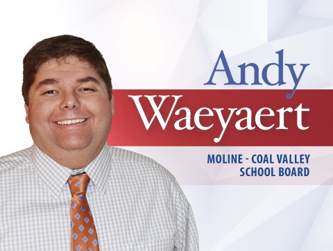 Andy Waeyaert School Board